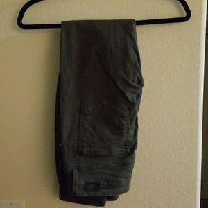 Paige dark green jeans size 27